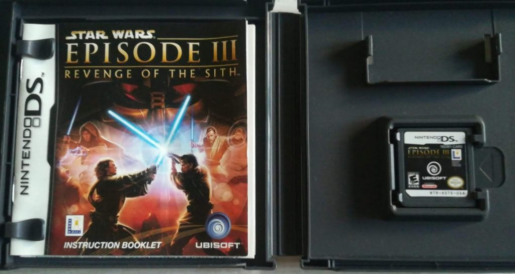 Star Wars Episode 3 Revenge Of The Sith Ds Ntsc The Source