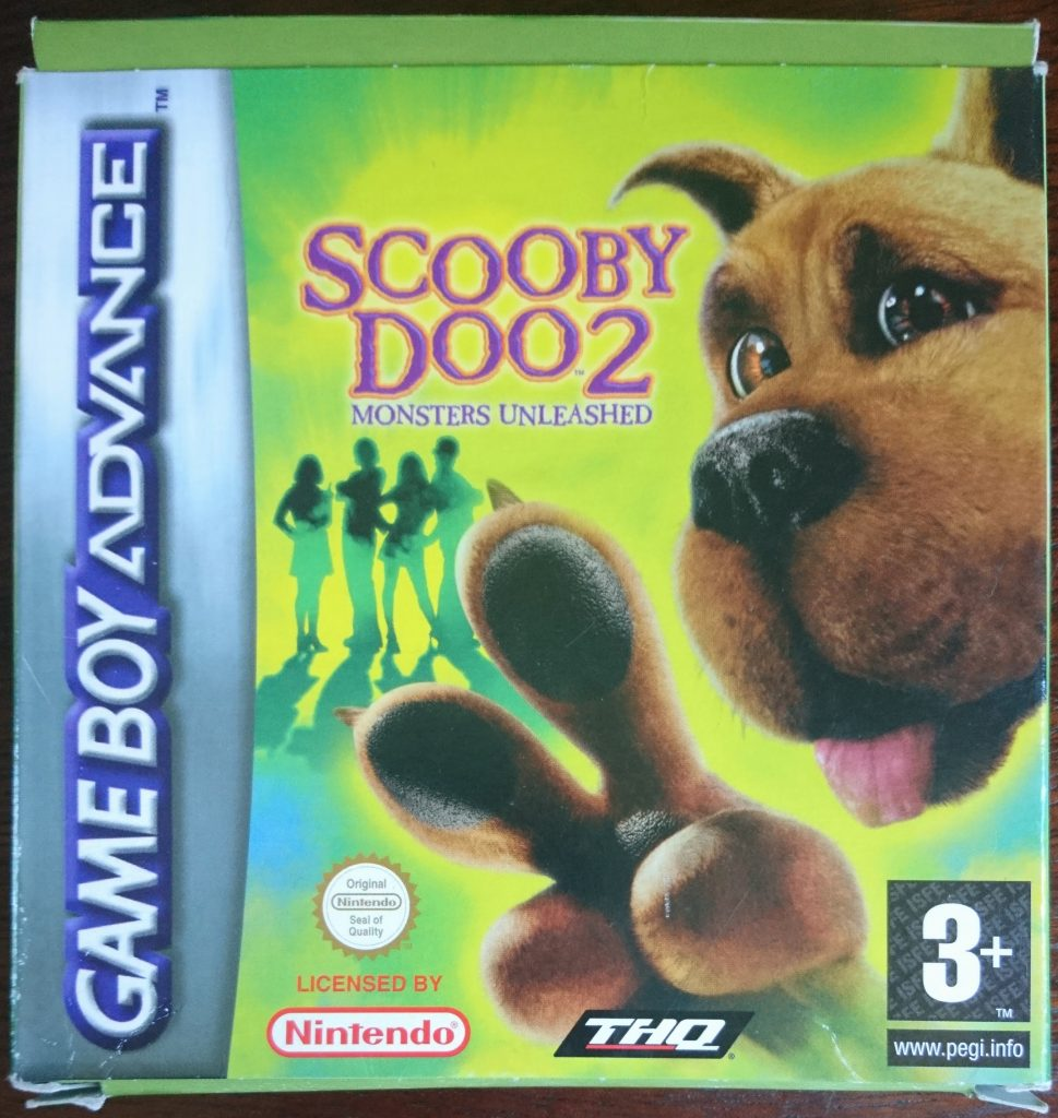 scooby doo 2 game