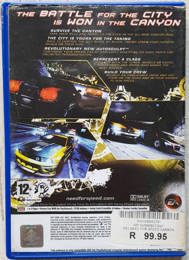 Need For Speed Carbon Ps2 The Source